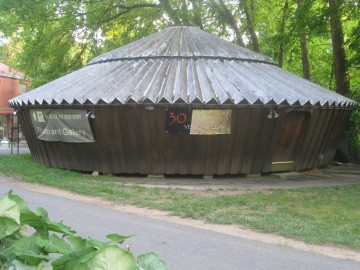 Glen Echo's Pottery Gallery Yurt